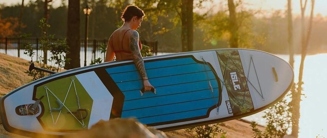 ISLE Pioneer Inflatable Paddle Board